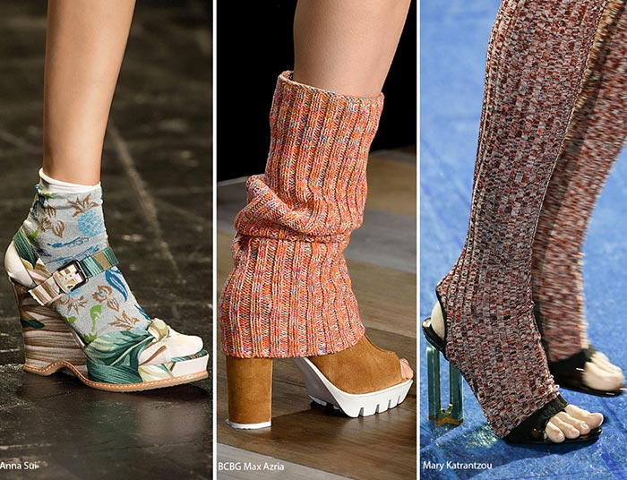 Spring/ Summer 2016 Shoe Trends: Shoes With Socks