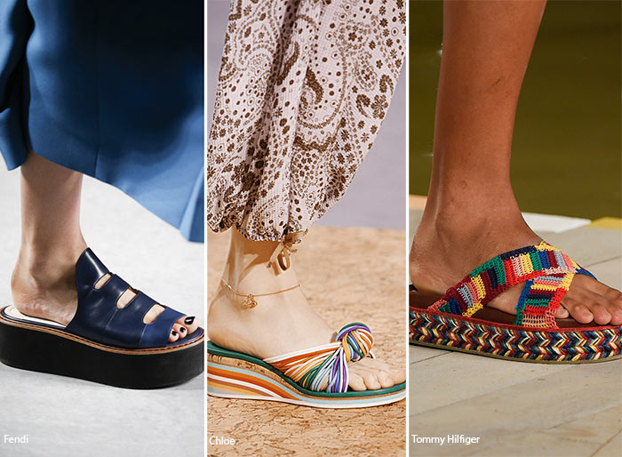 Spring/ Summer 2016 Shoe Trends: Slides Shoes