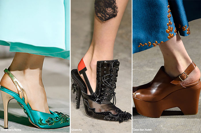 Spring/ Summer 2016 Shoe Trends: Slingback Shoes