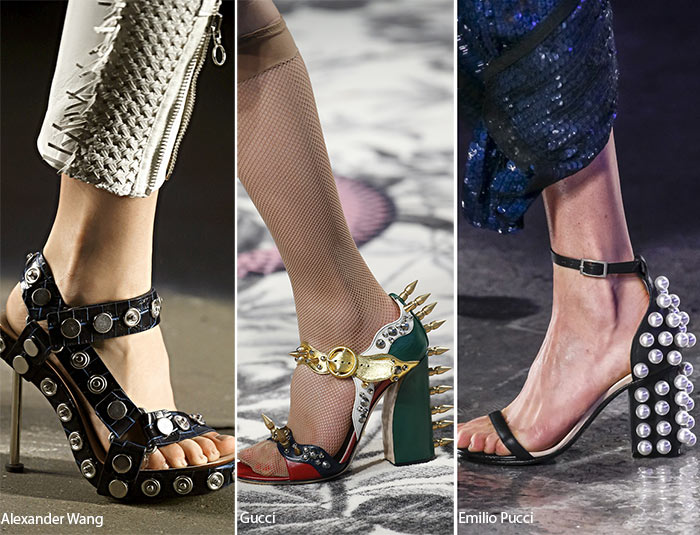 Spring/ Summer 2016 Shoe Trends: Shoes with Studs