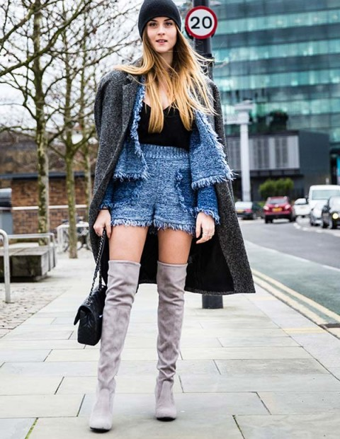 Top Street Style Looks From London Fashion Week Fall 2016