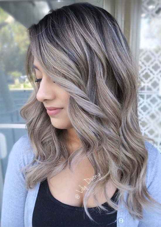 50 Balayage Hair Color Ideas for 2017 To Swoon Over | Fashionisers©
