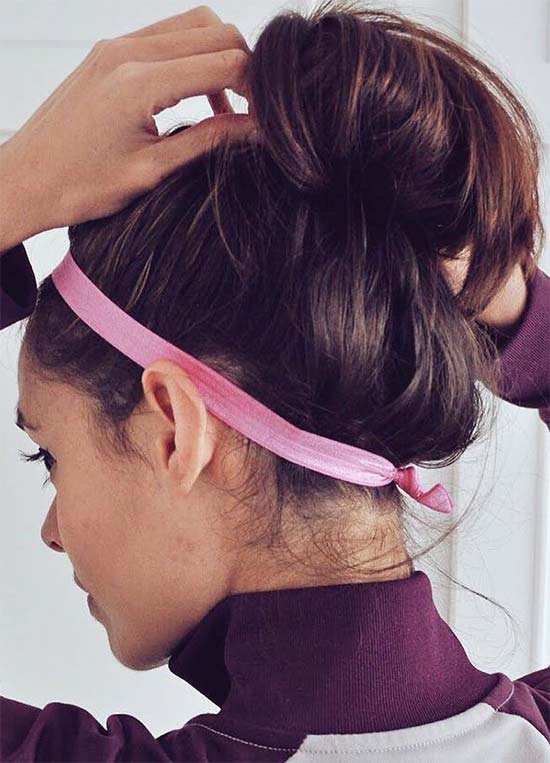 Top 40 Best Sporty Hairstyles for Workout  9d5270efcb2