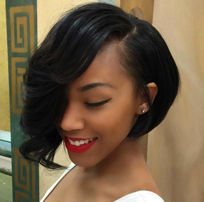 short asymmetrical haircuts for black women 100 hairstyles for pixie bob undercut hair 4031 | stylish short hairstyles haircuts for women asymmetrical bob10