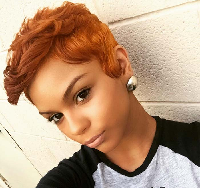 Short Hairstyles for Women: Curly Pixie