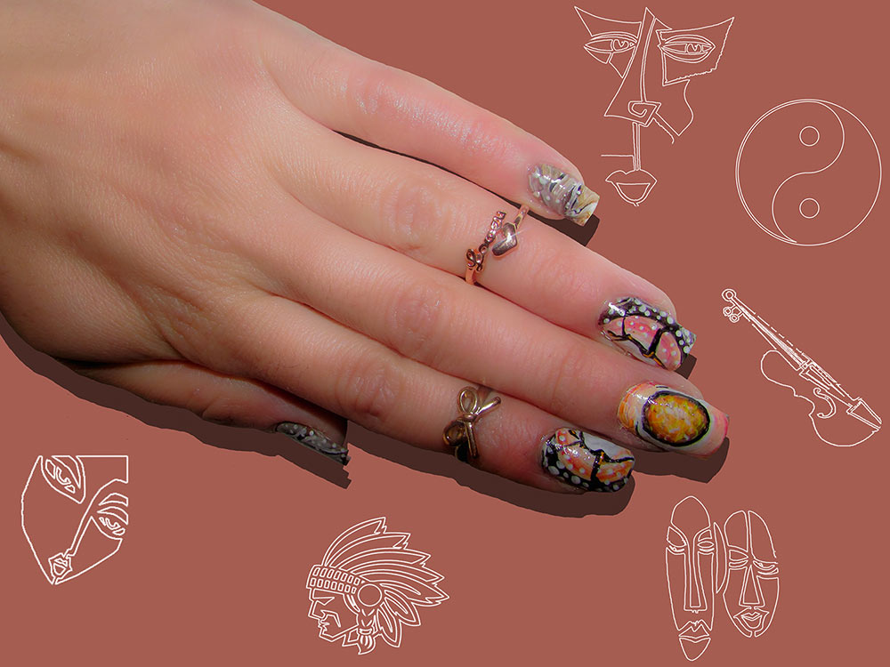 Abstract Artistic Nail Art Designs That Will Blow Your Mind