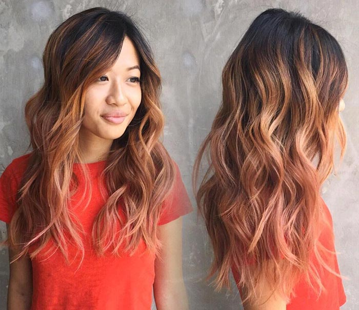 65 Rose Gold Hair Color Ideas Fashionisers C Part 3