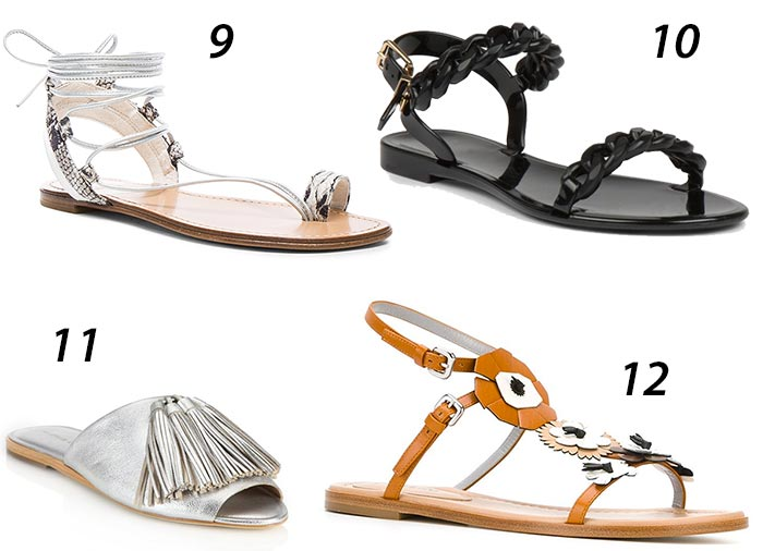 Summer 2016 Sandals and Slides Trends: Shopping