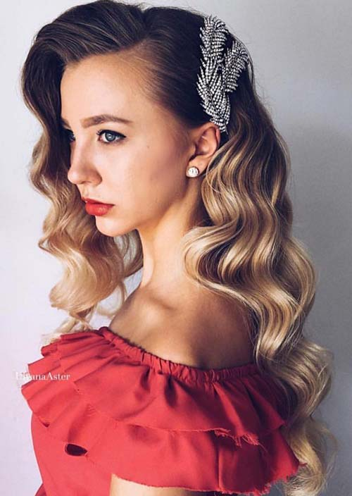 100 Trendy Long Hairstyles for Women: Curly Hair