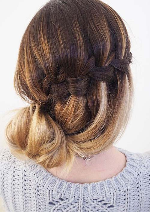 100 Trendy Long Hairstyles for Women: Woven Side Braid