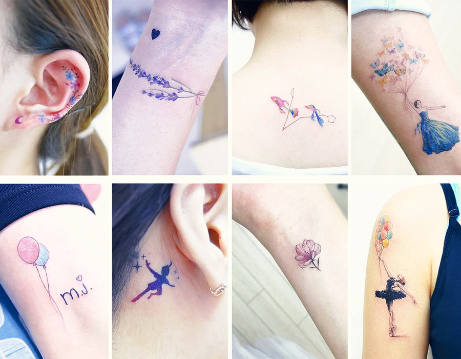 50+ Absolutely Cute Small Tattoos For Girls With Their Meanings