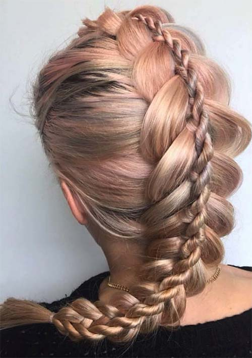 plaits styles hair 100 ridiculously awesome braided hairstyles to inspire you 4738