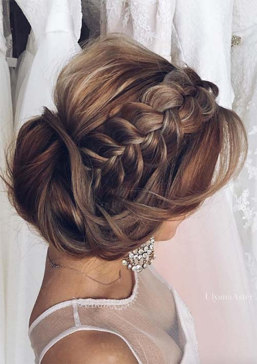 100 Ridiculously Awesome Braided Hairstyles: Classic Braided Updo