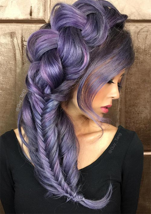 100 Ridiculously Awesome Braided Hairstyles: Large & Small Braids