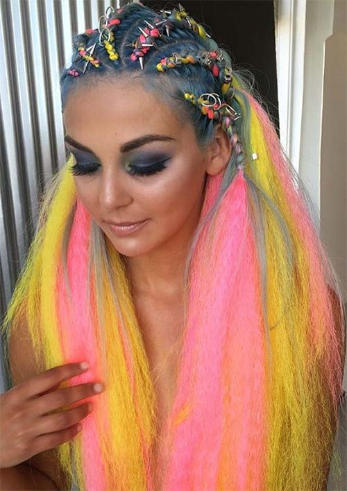 100 Ridiculously Awesome Braided Hairstyles: Cornrow Braids