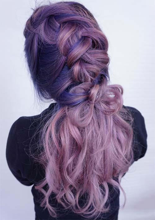 100 Ridiculously Awesome Braided Hairstyles: Textured & Chunky Braid