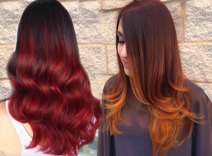 100 Badass Red Hair Colors Auburn Cherry Copper Burgundy Hair Shades Fashionisers C