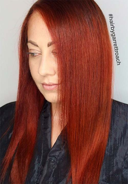 100 Badass Red Hair Colors Auburn Cherry Copper