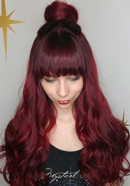 100 Badass Red Hair Colors: Auburn, Cherry, Copper, Burgundy Hair Shades  Fashionisers\u00a9
