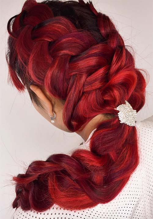 100 Badass Red Hair Colors Auburn Cherry Copper Burgundy