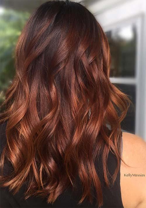 15de9ef7fa1223 100 Badass Red Hair Colors: Auburn, Cherry, Copper, Burgundy Hair Shades