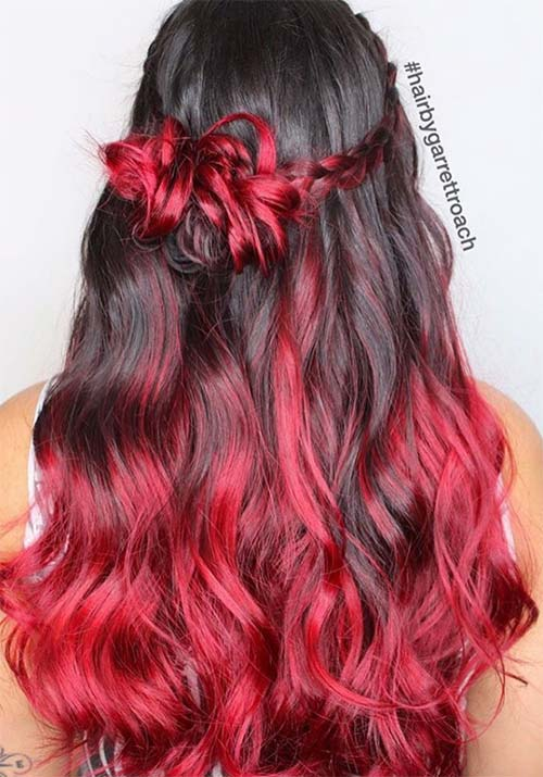 100 Badass Red Hair Colors Auburn, Cherry, Copper, Burgundy