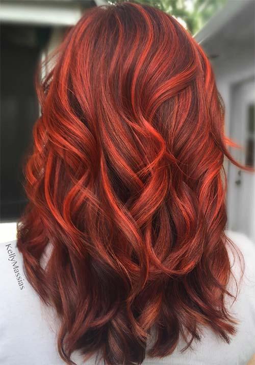 100 Badass Red Hair Colors Auburn Cherry Copper Burgundy Hair