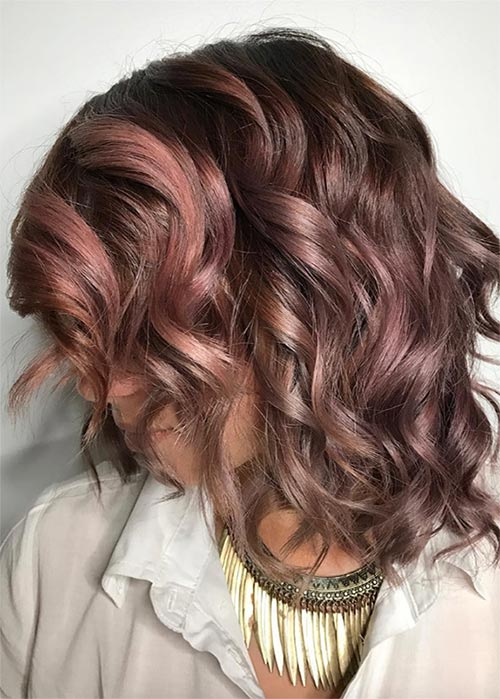 20 Pretty Chocolate Mauve Hair Colors: Ideas to Inspire | Fashionisers©