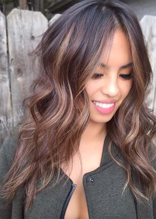 20 Pretty Chocolate Mauve Hair Colors Ideas To Inspire Fashionisers C