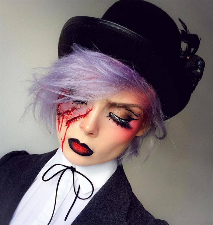 Creative Halloween Makeup Ideas: Lion Tamer Halloween Makeup