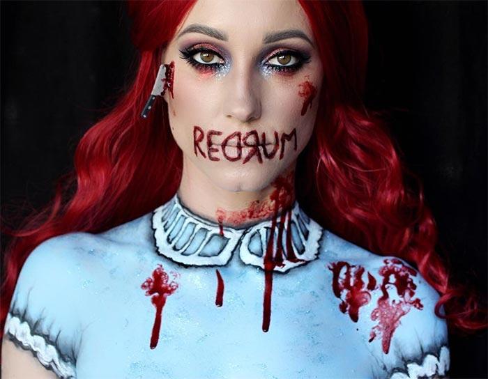 Creative Halloween Makeup Ideas: Scary Movie Halloween Makeup