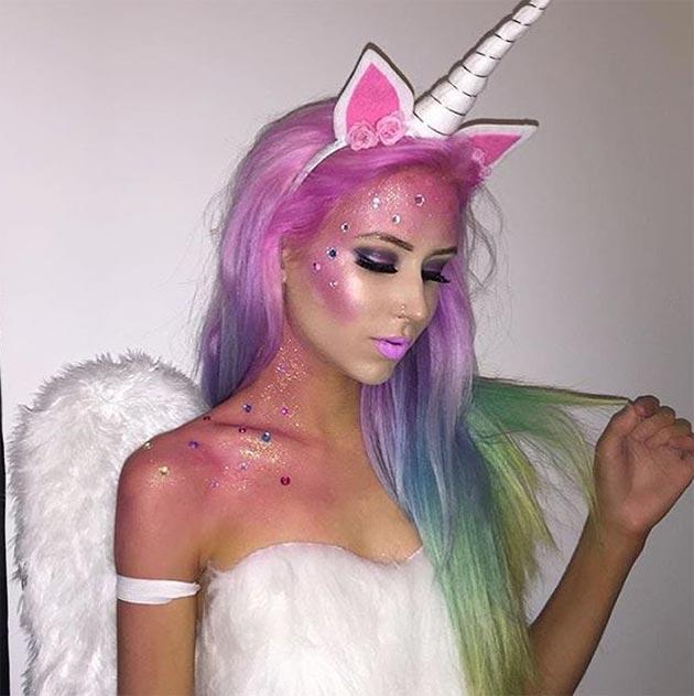 Creative Halloween Makeup Ideas: Unicorn Halloween Makeup