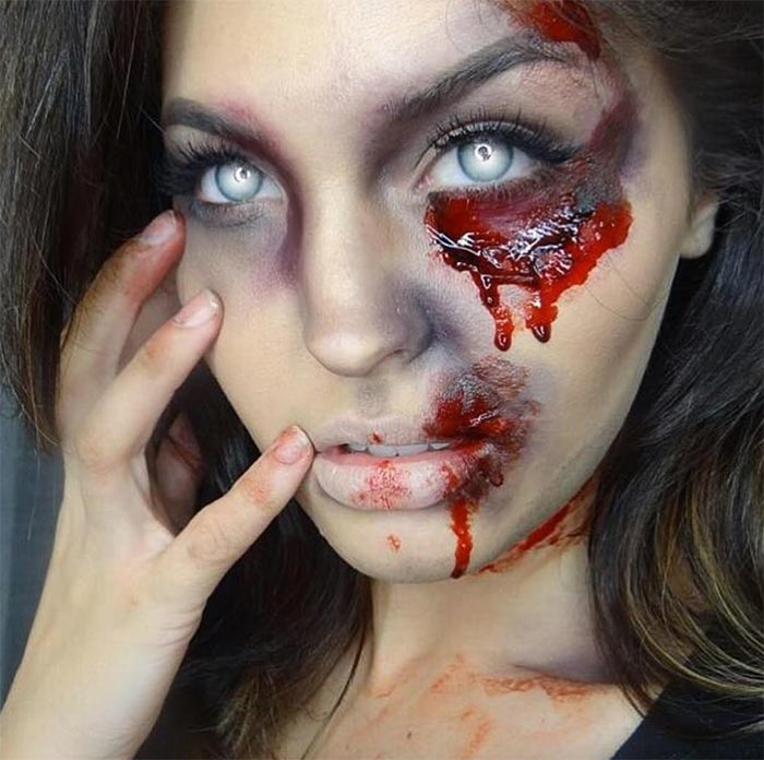 Creative Halloween Makeup Ideas: Zombie Halloween Makeup