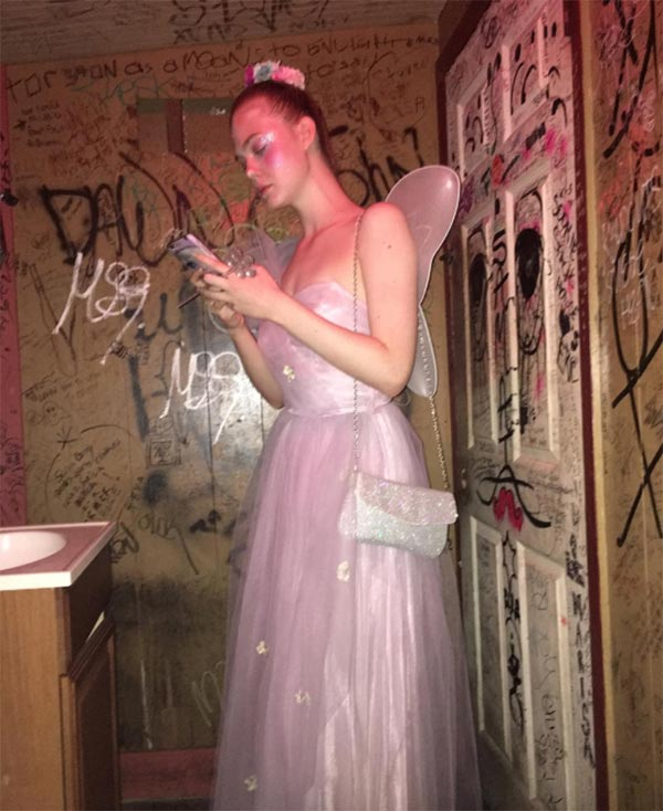 Best Halloween 2016 Celebrity Costumes: Elle Fanning