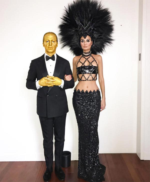 Best Halloween 2016 Celebrity Costumes: Giovanna Battaglia