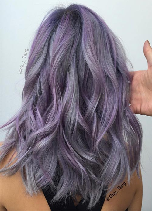 How to Maintain Lavender Hair Colors