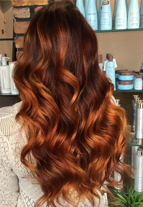 50 Copper Hair Color Shades To Swoon Over Fashionisers C