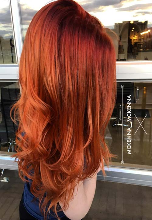 hair style and hair color 50 copper hair color shades to swoon fashionisers 56551