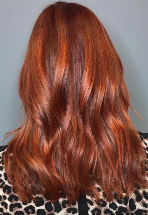 50 Copper Hair Color Shades to Swoon Over | Fashionisers©