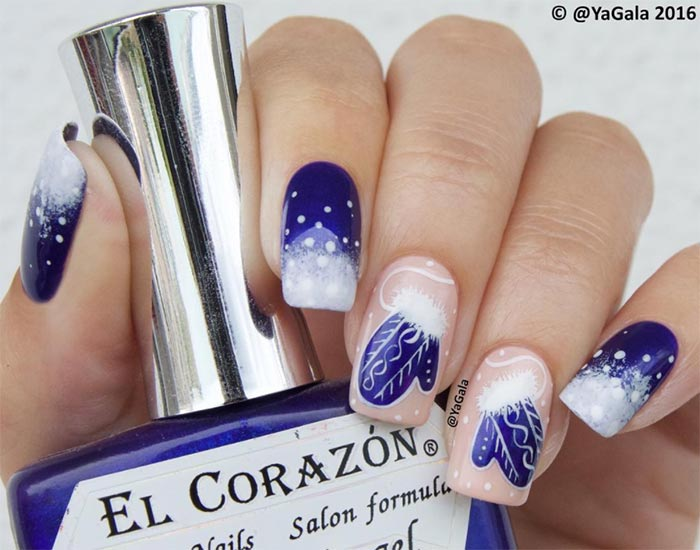 Sparkling Holiday Nail Art Designs To Try This Christmas
