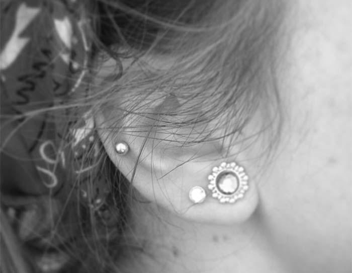Types of Ear Piercings: Auricle Piercing