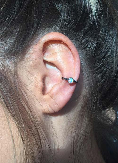 Types of Ear Piercings: Conch Piercing