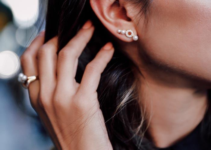 Types of Ear Piercings: Lobe Piercing