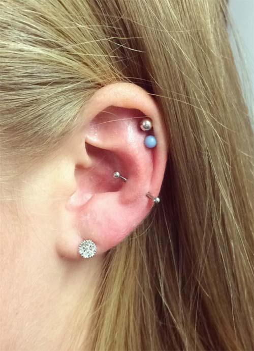 Types of Ear Piercings: Snug Piercing