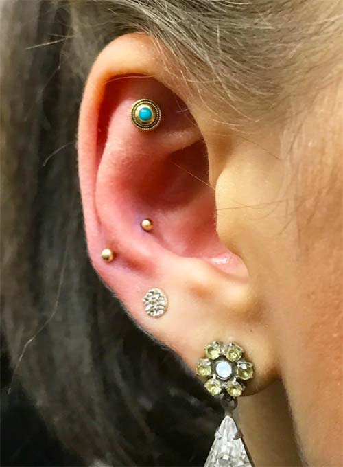 Types of Body Piercings: Ear Piercings - Snug Piercing