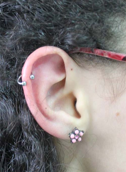 Types of Body Piercings: Ear Piercings - Standard Lobe Piercing