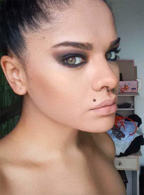 Types of Body Piercings: Lip Piercings - Madonna Piercing