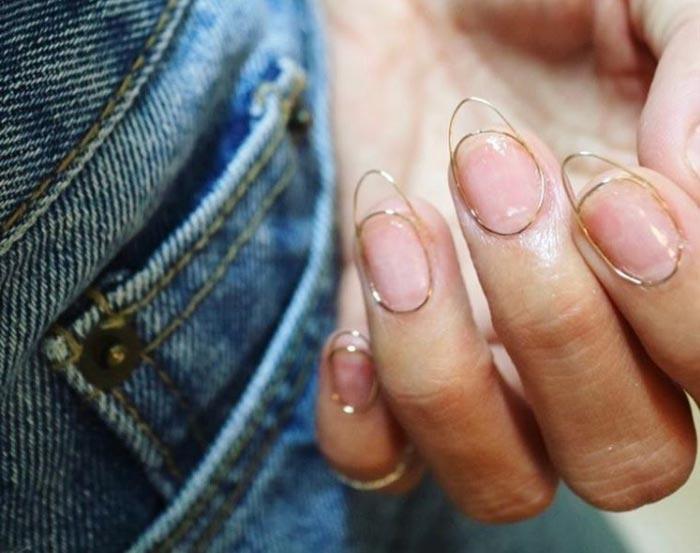 Wire Nail Art Trend: Wire Manicure Design