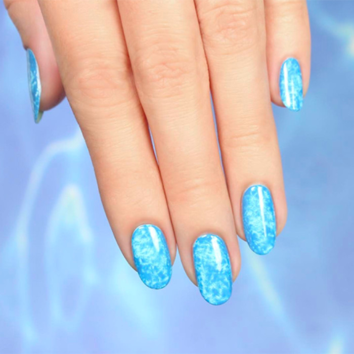 Best Summer Nail Designs for Summer 2017 pool reflection nails