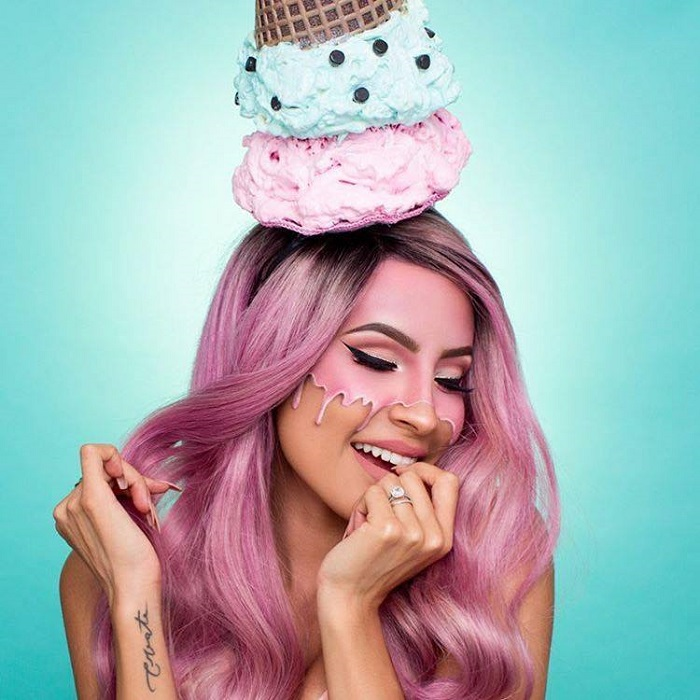 Ice Cream Inspired Makeup is All Over Instagram